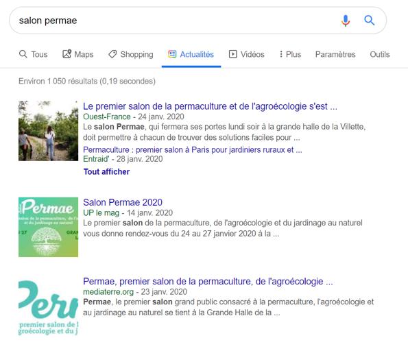 Le premier salon de permaculture - Recherche google