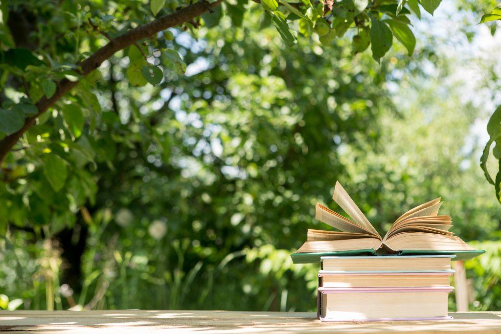 Livres à lire au jardin