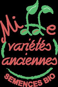 Logo mille variétés anciennes semences bio