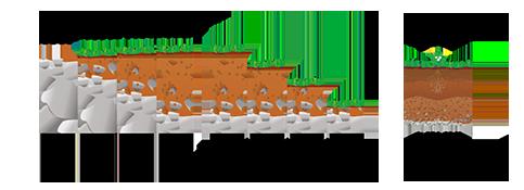 illustration de la composition du sol