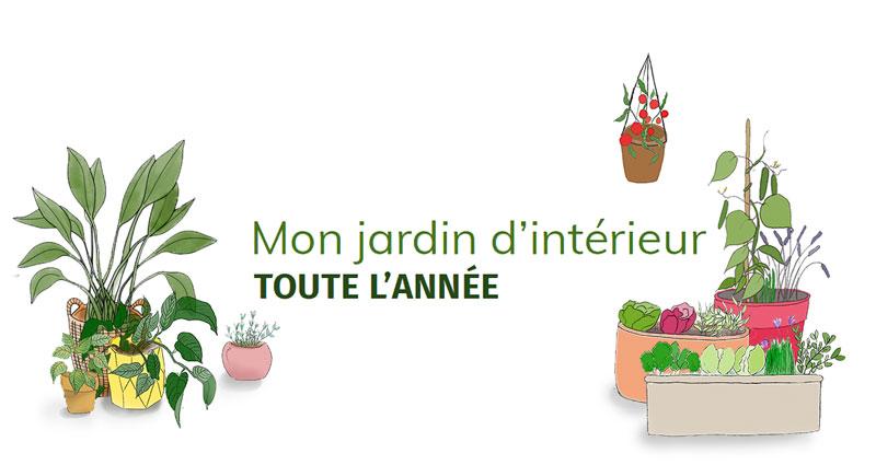 Logo formation Jardiner en intérieur