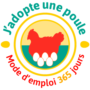 Logo formation J'adopte une poule