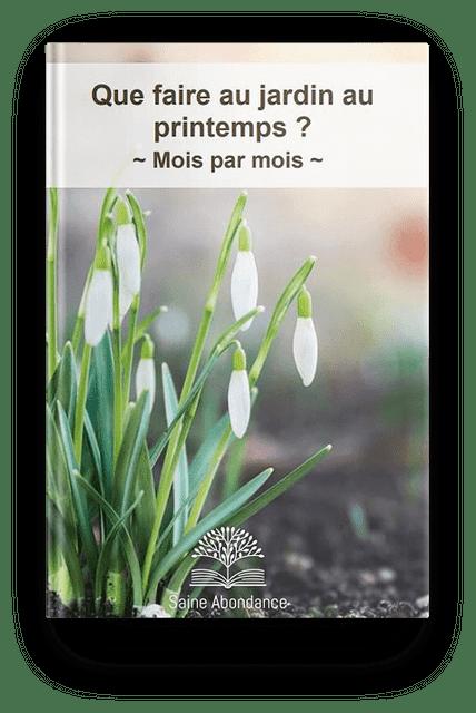 Que faire au jardin au printemps