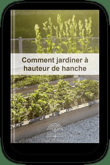 Comment jardiner à hauteur de hanche